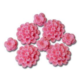 Maya Road - Resin Blossoms - Pink, CLEARANCE