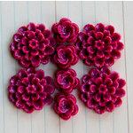 Maya Road - Resin Blossoms - Red