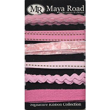 Maya Road - Signature Ribbon Pack - Pink, CLEARANCE