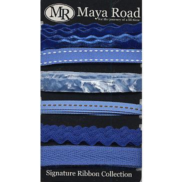 Maya Road - Signature Ribbon Pack - Blue, CLEARANCE