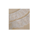 Maya Road - Trim - Soft Vintage Scallop Lace - Cream - 23 Yards