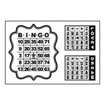Maya Road - Clear Stamps Collection - Singleton Stamp - Mini Bingo