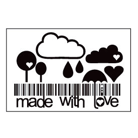 Maya Road - Clear Stamp Collection - Singleton Stamp - Made with Love