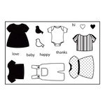 Maya Road - Clear Stamp Collection - Singleton Stamp - Baby