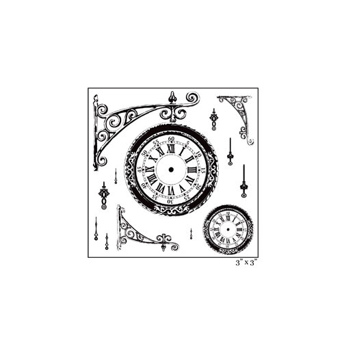 Maya Road - Clear Acrylic Stamps - Timeless Memories Square