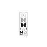 Maya Road - Clear Acrylic Stamps - Soar Butterflies Strip