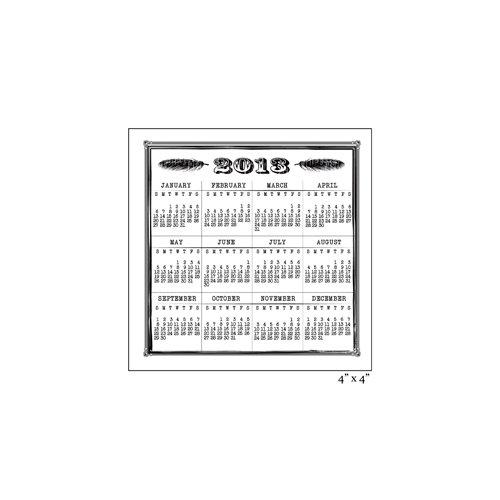Maya Road - Clear Acrylic Stamps - Vintage 2013 Calendar