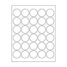 Maya Road - Kraft DIY Stickers - 1.5 Inch Circles