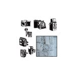 Maya Road - Transparency Die Cut Pieces - Say Cheese Camera -White