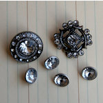 Maya Road - Vintage Trinkets Collection - Antique Button Jewels, CLEARANCE