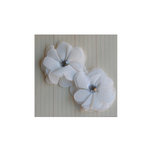 Maya Road - Vintage Gauze Blossoms - Cream