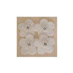Maya Road - Antique Pearl Center Flowers - Cream