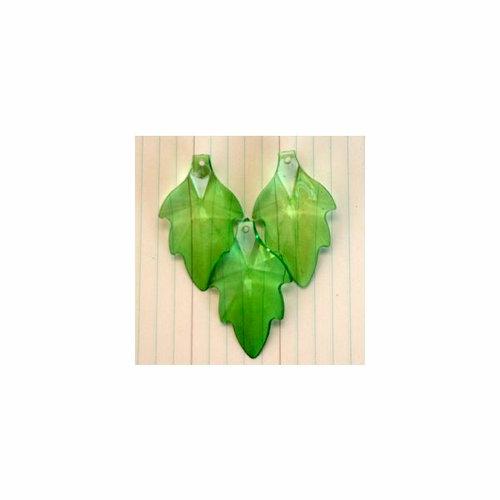 Maya Road - Vintage Findings - Leaf Beads