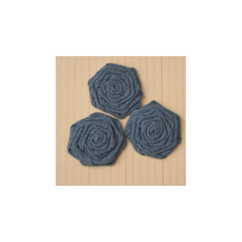 Maya Road - Vintage Roses - Denim