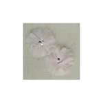 Maya Road - Tu-Tu Tulle Flowers - Vintage Buttermilk