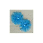 Maya Road - Tu-Tu Tulle Flowers - Sea Blue