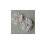 Maya Road - Satin Scallop Edge Blooms - Cream