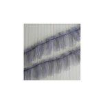 Maya Road - Trim - Tulle Pleat - Earl Grey - 24 Yards
