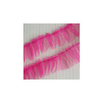Maya Road - Trim - Tulle Pleat - Sprinkles Pink - 24 Yards
