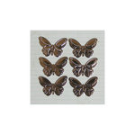 Maya Road - Metal Embellishments - Antique Butterflies