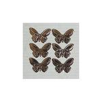Maya Road - Metal Embellishments - Antique Butterflies