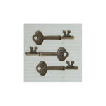 Maya Road - Metal Embellishments - Antique Room Key