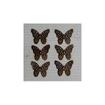 Maya Road - Vintage Findings - Metal Embellishments - Antique Filigree Butterflies