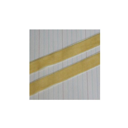 Maya Road - Velvet Ribbon Bands - Yellow - 25 Yards