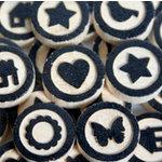 Maya Road - Wood Pieces - Bingo Motifs, CLEARANCE
