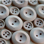 Maya Road - Wood Pieces - Alterable Buttons, CLEARANCE