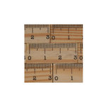 Maya Road - Wood Pieces - Vintage Tiny Ruler