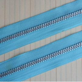 Maya Road - Trim Collection - Zipper Trim - Sky Blue - 1 Yard