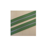 Maya Road - Zipper Trim - Leaf Green - 25 Yards