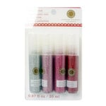 Martha Stewart Crafts - Valentine - Glitter Glue Pen Variety - 4 Piece Set