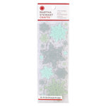 Martha Stewart Crafts - Christmas - Clear Acrylic Stamps - Snowflace