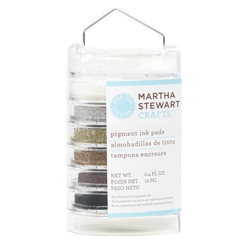 Martha Stewart Crafts - Ink Pads - 6 Pieces - Elegant