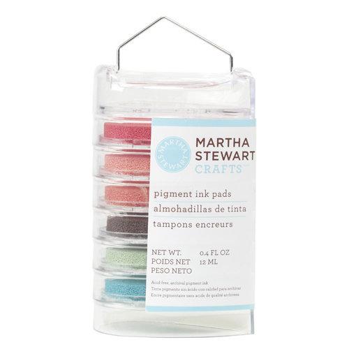 Martha Stewart Crafts - Ink Pads - 6 Pieces - Floral