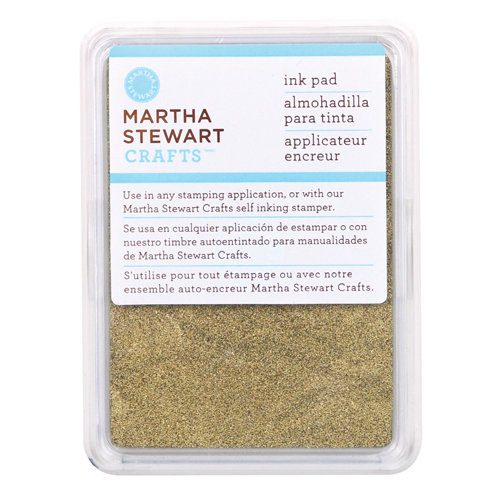 Martha Stewart Crafts - Archival Pigment Ink Pad - Gold