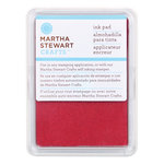 Martha Stewart Crafts - Archival Pigment Ink Pad - Pomegranate