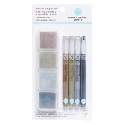 Martha Stewart Crafts - Pen and Ink Pad Set