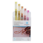 Martha Stewart Crafts - Glitter Marker Set - 6 Pieces - Warm Spectrum