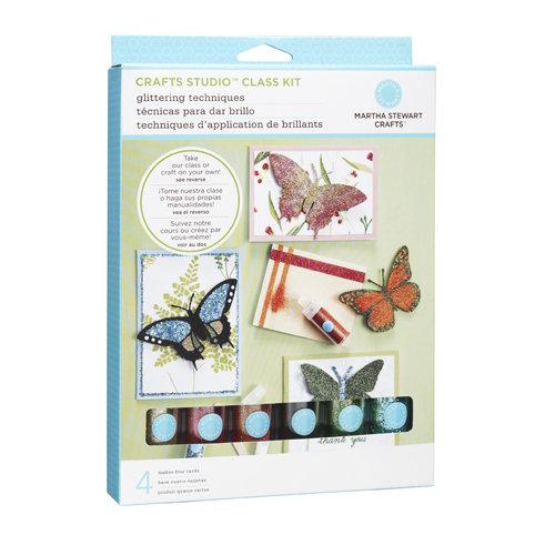 Martha Stewart Crafts - Glittering Techniques Cardmaking Kit