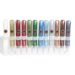 Martha Stewart Crafts - Essential Christmas - Glitter Glue Pen Variety 12 Piece Set