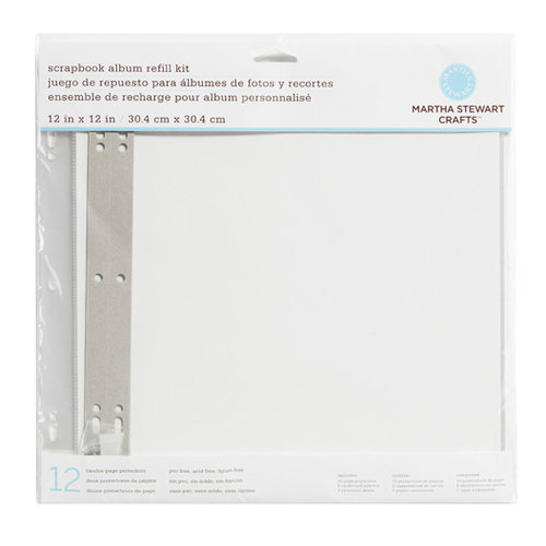 Martha Stewart Crafts - 12 x 12 Page Protectors