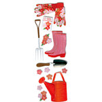 Martha Stewart Crafts - 3 Dimensional Stickers - Gardening