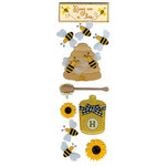 Martha Stewart Crafts - 3 Dimensional Stickers - Busy as a Bee