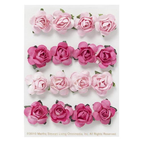 Martha stewart crafts valentine 3 dimensional stickers paper rose mightylinksfo