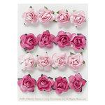 Martha Stewart Crafts - Valentine - 3 Dimensional Stickers - Paper Rose