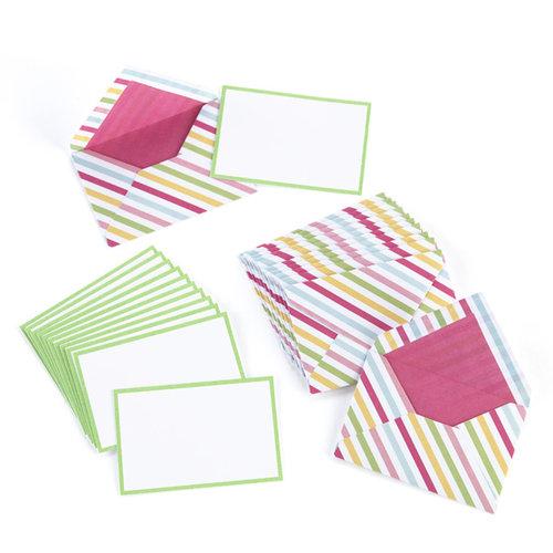Martha Stewart Crafts - Modern Festive Collection - Striped Envelopes