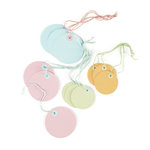 Martha Stewart Crafts - Modern Festive Collection - Colored Tags